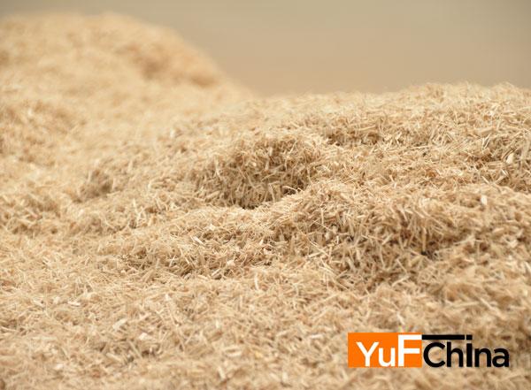 sawdust materail