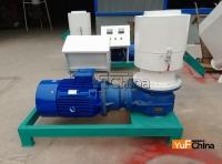 Romania Customer 1.2t / h pellet production line