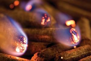 How long biomass pellet can burn?