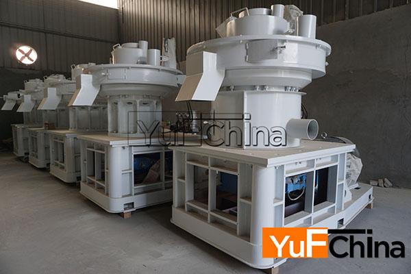 biomass pellet factory