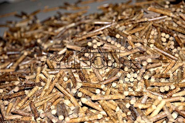 storage the biomass pellets