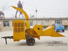 PTO shaft Power Wood Crusher