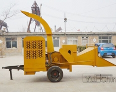 PTO shaft Power Wood Crusher