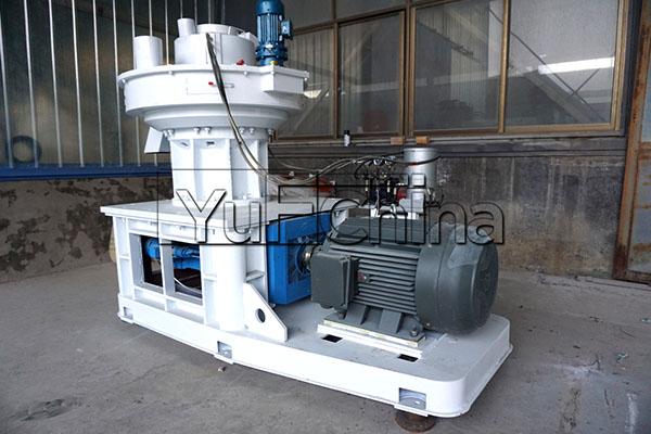 the Pellet Machine