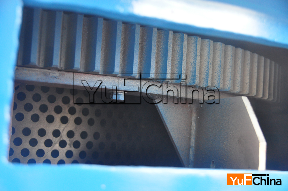 Wood chip machine mould